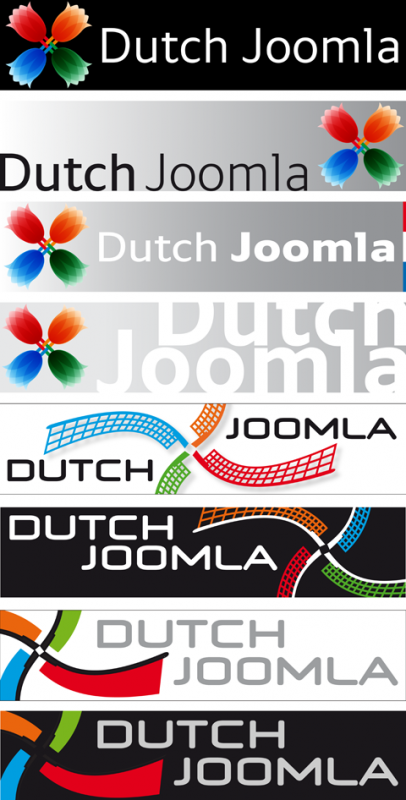 Dutch Joomla logovoorstellen