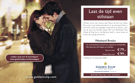 Golden Tulip advertentie